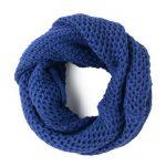 Fular circular albastru persan Kiry
