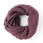 Fular circular violet Tyrian Grandza