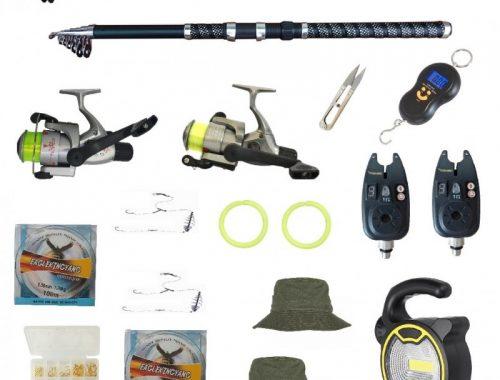 set kit pescuit sportiv