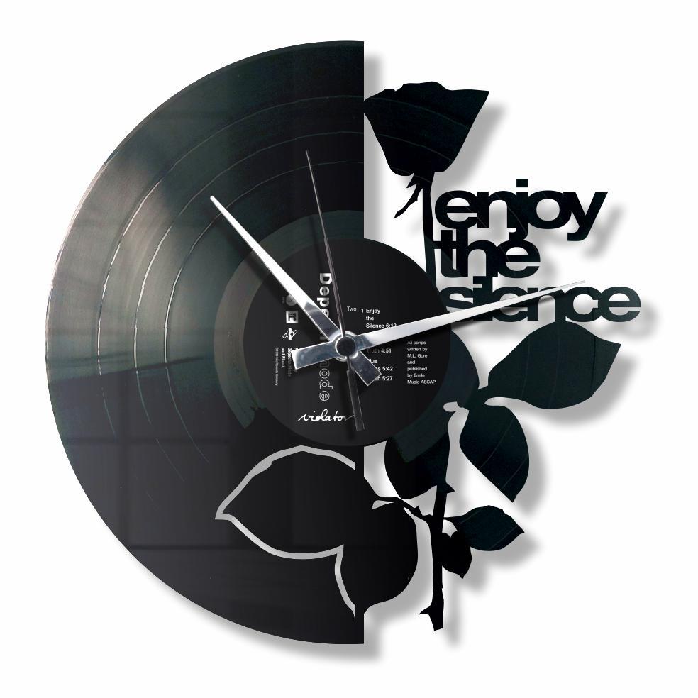 Depeche Mode,analogic, Wallwatches, negru/alb, de perete
