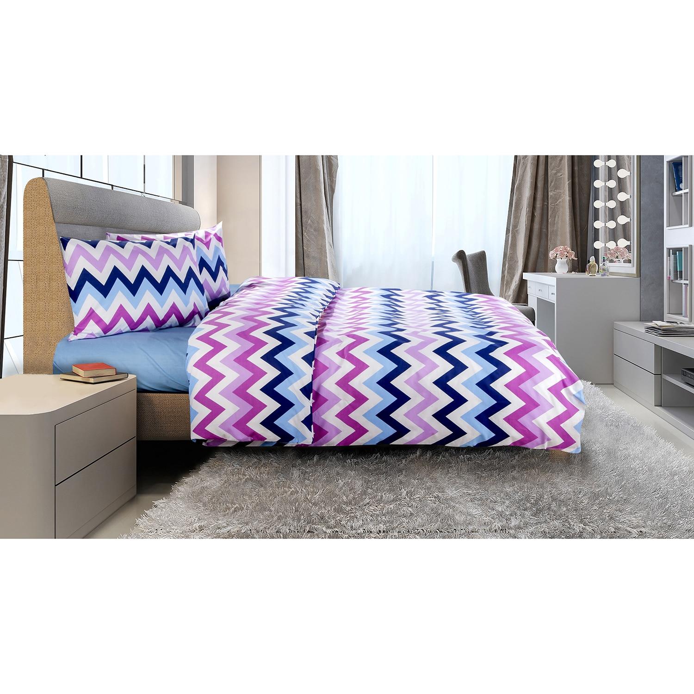 Lenjerie de pat pentru 2 persoane Zig Zag Heinner Home