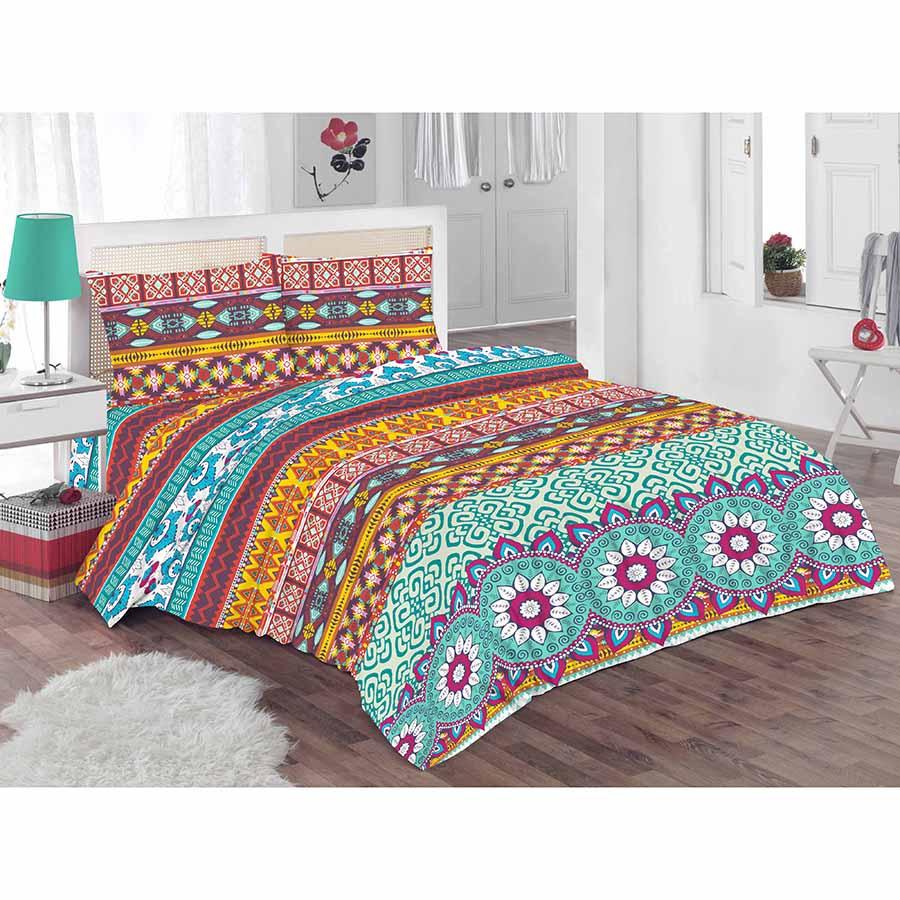 Lenjerie de pat pentru 2 persoane Kring Pastel