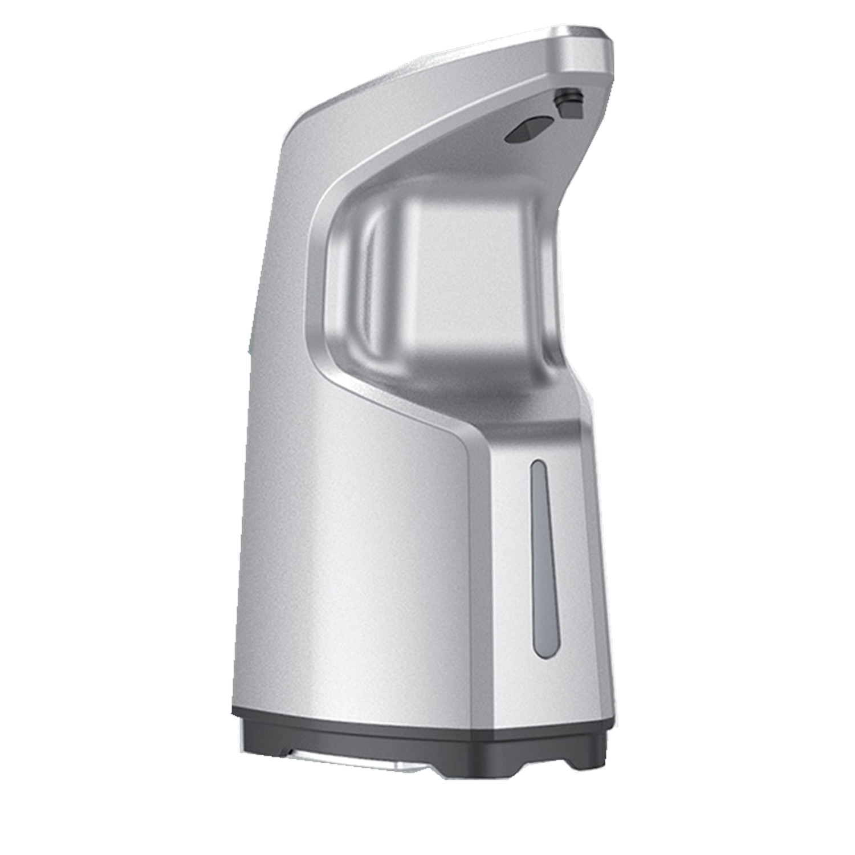Dispenser automat de sapun lichid Anself, 450 ml, Argintiu