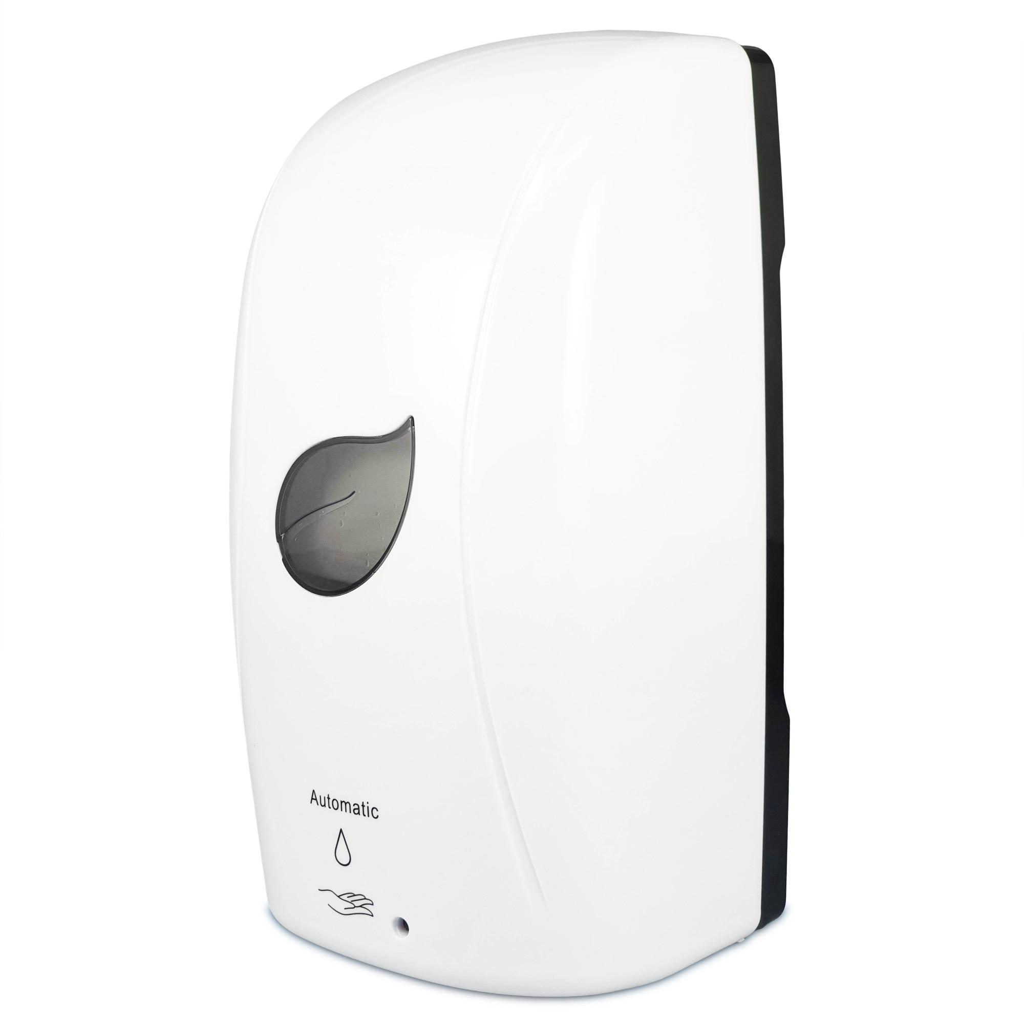 Dozator automat cu recipient reincarcabil de 1000 ml pentru dezinfectant sau sapun lichid, dispenser